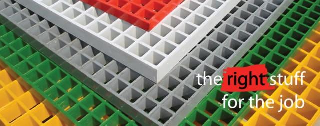 12 l - Fibreglass Reinforced Plastic (FRP) Grating