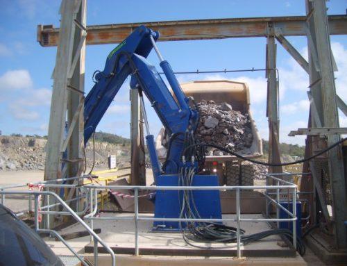 CM6000 Rock Breaker Project Finished & Installed