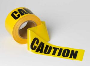 "921015 300x221 - Barrier Tape - ""Caution"""