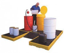 Low-Profile Spill Containment Decks