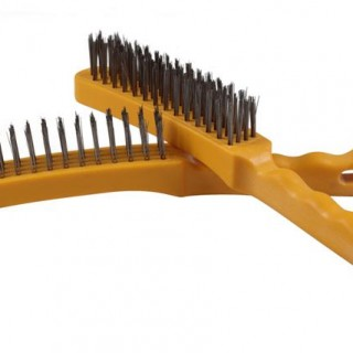 Hand Brushes - 4-Row Plastic Handle TAIPAN