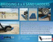 4x4 sand ladders bog mats made from frp grating 177x142 - Grating FRP