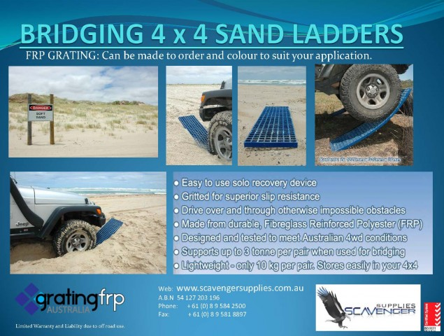 4x4 sand ladders bog mats made from frp grating - 4x4 sand ladders bog mats made from FRP Grating