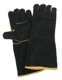 Black & Gold Welding Glove