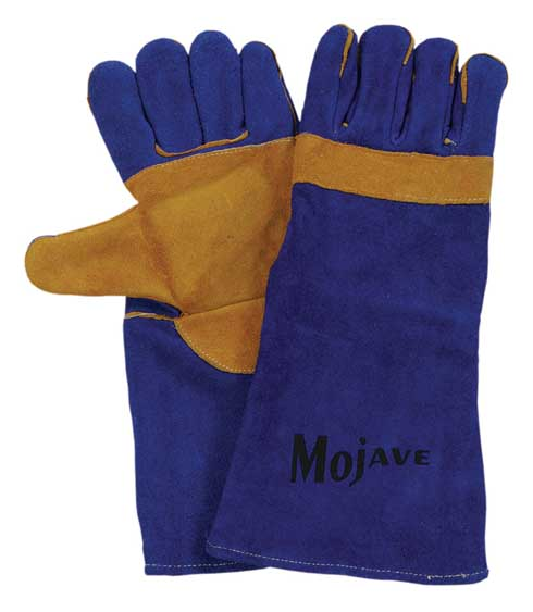 Mojave-Blue Split Welding Glove