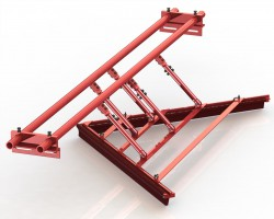 MAT 001 117 VIEW 1A MUR1 VEE PLOUGH CLEANER POLY 250x200 - Mato Conveyor Products