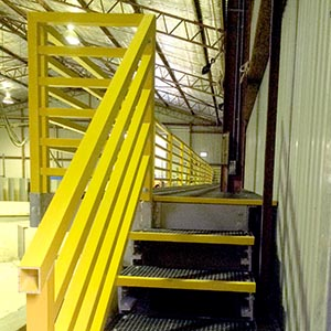 WAREHOUSE STAIRWAY 300 - Grating FRP