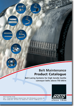 catalogue cover m mato 1 - Mato Conveyor Products