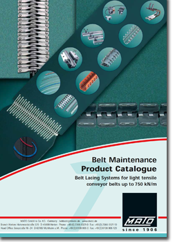 catalogue cover m mato 2 - Mato Conveyor Products