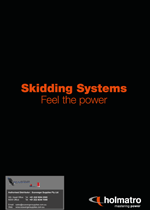 catalogue cover m skidding system holmatro - Holmatro Hydraulic Products