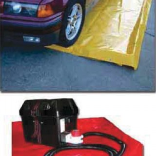 Drive-Over Bunding and Car Washpads