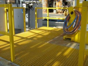 frp raised platform 300x225 - FRP Grating Suppliers in Australia - Grating FRP