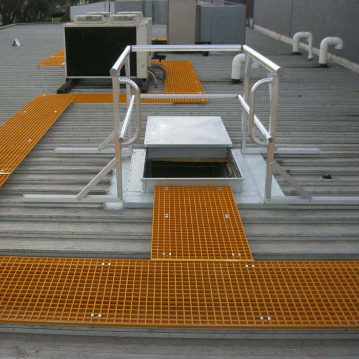 FRP ROOF WALKWAY 1 - FRP Roof Access System