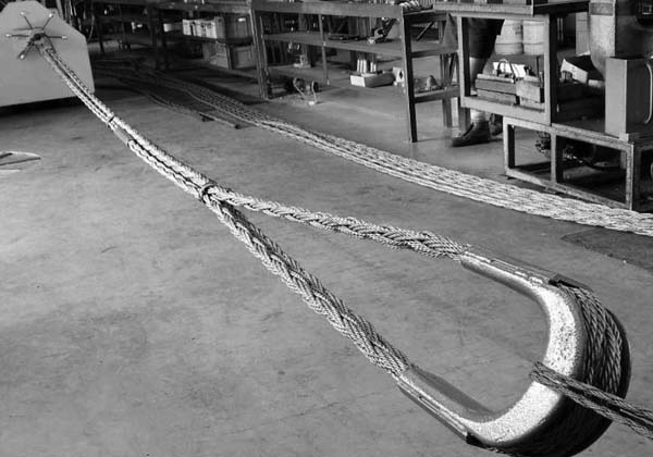 Superflex Wire Image recovery strops - SUPERFLEX Wire Slings & Ropes