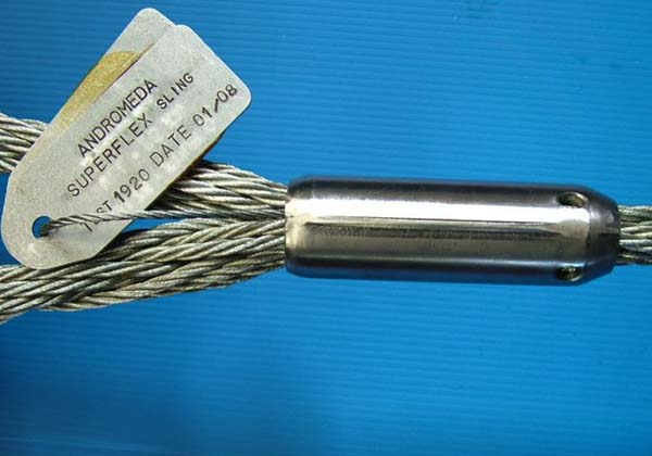 Superflex Wire Image steel ferrule - SUPERFLEX Wire Slings & Ropes