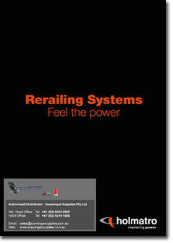catalogue cover m holmatro rerailing copy - Holmatro Rerailing System