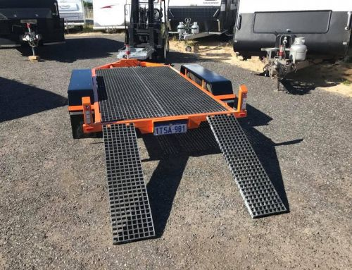 Durable and Non-Corrosive Material For Boat Trailer or Trailer Walkway
