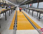 FRP Grating for Train Service Station