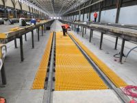 FRP Grating for Train Service Station