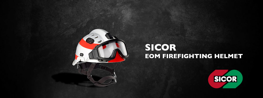 SICOR BANNER 2 - Sicor Firefighting Helmets in Australia