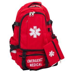 Basic Large Medical Backpack - Red