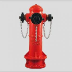 PH1003 (A) - 3 Way Fire Hydrant
